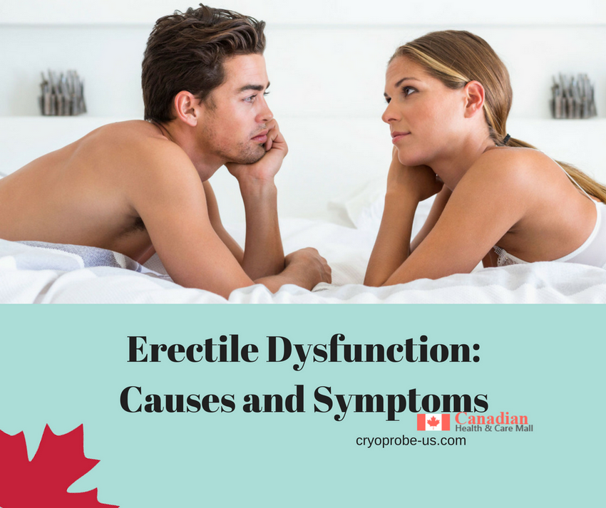 Erectile Dysfunction-Causes and Symptoms